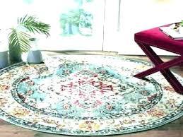 6 ft round rug 3 foot square bath rugs la gray x piece set area