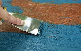 how to remove paint from wood the