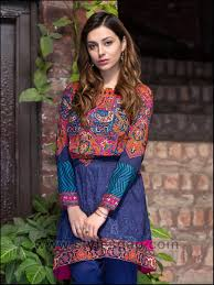 Casual Dress Designs Images 2018 Summer Fashion Lawn Kurti Designs Trends Latest Collection