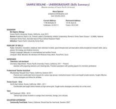 Sample Resume For Students In High School Unique Resume For High
