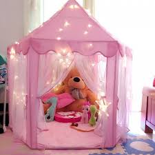 fabulous pink princess castle tent and tedy bear dool plus pink area rug