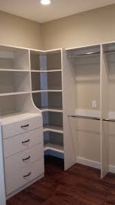 walk in closet ideas. Master Closet \u2013 Small Walk In With Hanging Storage, Drawers, And Shelving More Ideas