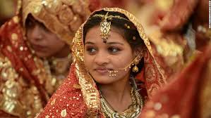 an indian muslim bride during a m wedding ceremony at the ancient sarkhej roja in ahmedabad