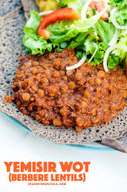 this deeply ed lentil dish is perfect served with spongy injera bread hethespatula
