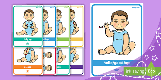 Baby Sign Language Chart Baby Sign Language Chart Poster Pack Everyday Signs