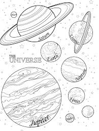 Small Picture Free Printable Solar System Coloring Pages For Kids Coloring