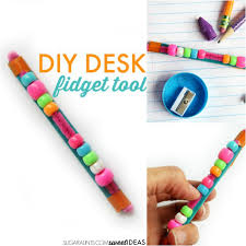 make this diy fidget tool for use in the clroom or at home while writing and reading to help kids focus attend and perform tasks with tactile sensory