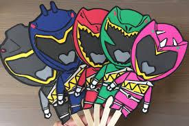 Power Rangers Bedroom Decor Power Ranger Party Etsy