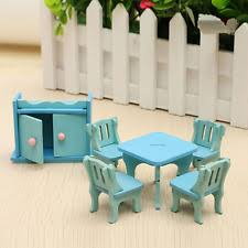 miniature dollhouse furniture.  dollhouse dollhouse accessories miniature dinning room set chairs table wooden  furniture throughout