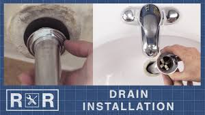 how to install a bathroom sink drain repair and replace