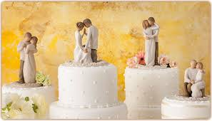 Cake Toppers I Love Willow Tree Figurines But What Do You Think