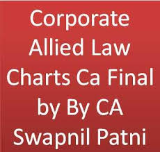 Corporate Allied Law Charts Ca Final By By Ca Swapnil Patni