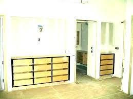 bathroom wall cabinets built in cabinet niche building oak