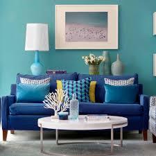 Light Blue Color Scheme Living Room Living Room Black Console Table Brown Ceiling Fans White