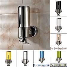 bathroom soap dispensers wall mounted. Bathroom-Wall-Mount-Soap-Dispenser-Liquid-Foam-Lotion- Bathroom Soap Dispensers Wall Mounted L