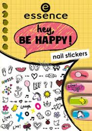 Essence Nail Art Hey Be Happy Nálepky Na Nehty 05 1 Aršík