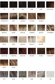 Couleur Cheveux Blond Nuancier