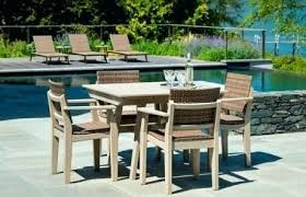mad fusion dining with woven chair recycled plastic outdoor furniture uk patio