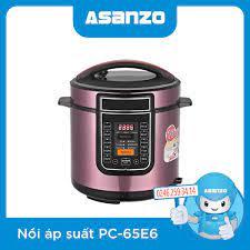 Nồi Áp Suất Điện Asanzo PC-65E6 chính hãng, giá rẻ tại Hà Nội