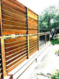 outdoor wood privacy screen garden backyard screens panels