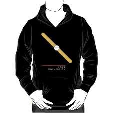 york university hoodie. york university - hoodie silhouette york university o
