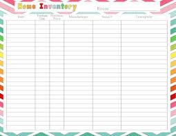Home Inventory Printable Home Inventory Home Management