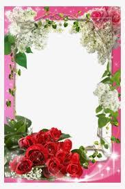 Paper Flower Frame Flower Frame Png Transparent Flower Frame Png Image Free Download