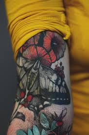 Joanna Swirska Dzo Lama Moth Tattoo идеи для татуировок милые