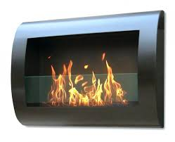 ethanol wall mounted fireplace reviews style regal flame inch black heater electric pebble soho m l f