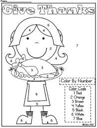 Small Picture 10 FREE Thanksgiving Coloring Pages Number code Kindergarten