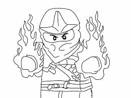 Small Picture The Red Ninja of Fire in Lego Ninja Go Coloring Pages Batch Coloring