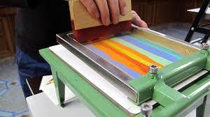 the smallest printing company miniature printing presses for a mobile printing studio screen printing printmaking