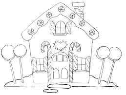 blank gingerbread house coloring pages. Delighful House Gingerbread House Coloring Pages In Blank House Coloring Pages E