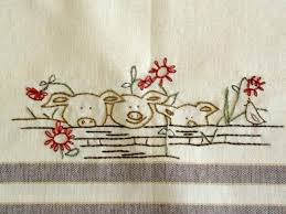 kitchen towel embroidery designs. patterns for embroidered dish towels   embroidery pattern set sheep detail kitchen towel designs r