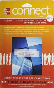 Access Financial Management Isbn 9780077641368 Connect Plus Finance 1 Semester Access Card For