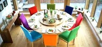 Colorful Dining Room Tables New Decoration
