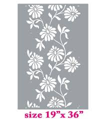 wall stencils flowers wall stencils flower wall stencils modern allover wall stencils decorative stencil patterns wall