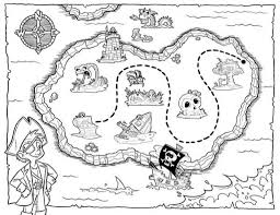 Treasure Map Coloring Pages with regard to Invigorate to color an ...