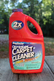 step 1 pick up the rug cleaner