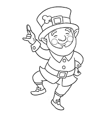 Small Picture Leprechaun Face Coloring Pages GetColoringPagescom