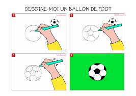 Apprendre Dessiner Un Ballon De Foot En 3 Tapes
