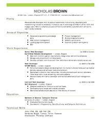 Google Resume Samples Google Resume Templates New 60 Resume Format And Cv Samples Google 52
