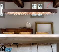 dining room storage under low ceiling pendant lamp unique room lighting rectangular modern table regtangle
