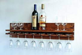 wine glass holder shelf wine glass rack under shelf wine rack floating wall shelf with glass holder