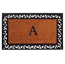 Front Doors : 72 Inch Doormat Monogrammed Doormat Indoor Entry Mat ...