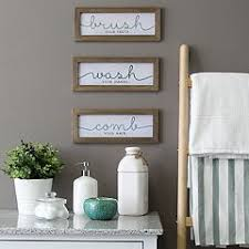 Shop for home goods wall art at bed bath & beyond. Wall Decor For Bathrooms Kohl S
