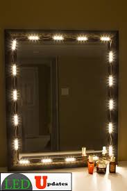 Vanity Strip Lighting Make Up Mirror Warm White LED Light Package Premium Series Vanity Strip Lighting Y