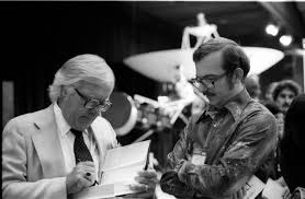 greg bear writing ray bradbury  photo of ray and greg