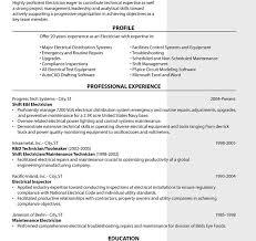 Electrician Job Description For Resume Best of Apprentice Electrician Lineman Cover Letter Sample Job Maintenance