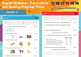 Grammar Punctuation English Grammar Punctuation And Spelling Progress Tests